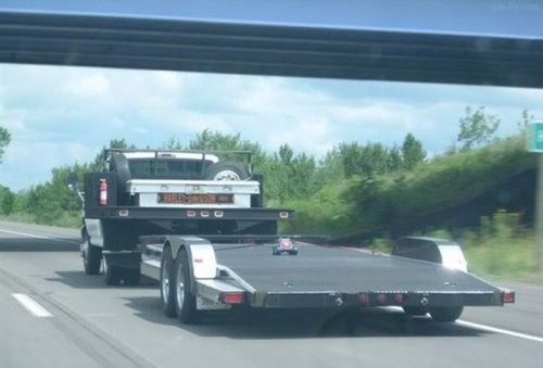 運搬している自動車の画像(23枚目)