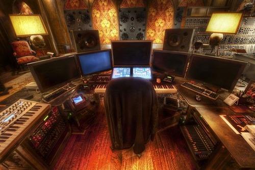 作曲家「ハンス・ジマー」のスタジオの画像(9枚目)