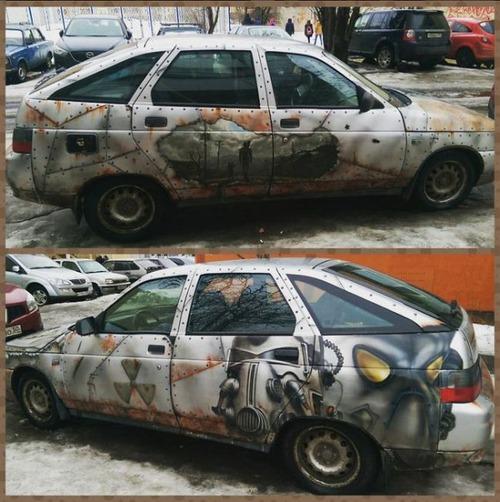 面白い自動車の改造や使い方の画像(4枚目)