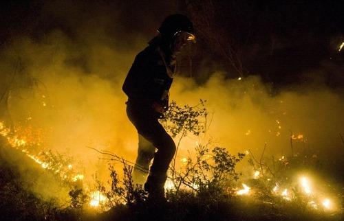 フランスのマルセイユの山火事の画像(8枚目)
