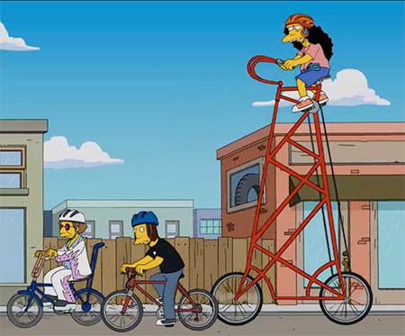 高すぎる自転車の画像(5枚目)