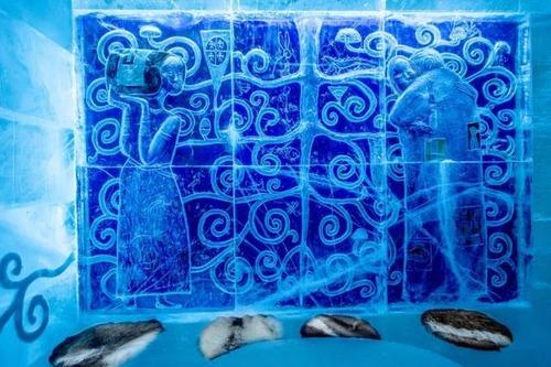 氷でできた極寒のホテルの画像(5枚目)