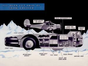 南極探索用の自動車
