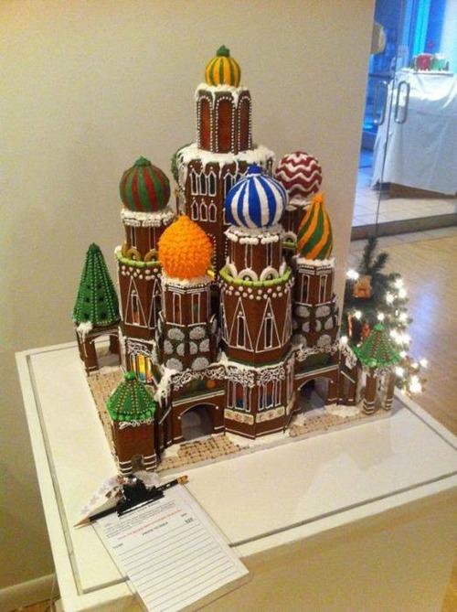 【画像】お菓子でできた家やジオラマが凄い!!の画像(2枚目)