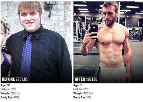 やればデキル!ダイエット肉体改造のビフォーアフターの画像の数々!!の画像(14枚目)