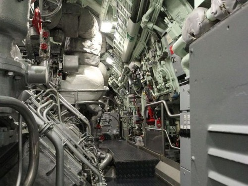 原子力潜水艦の内部の画像(5枚目)