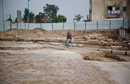 イスラエルで発掘された1700年前の信じられない遺跡の画像(3枚目)