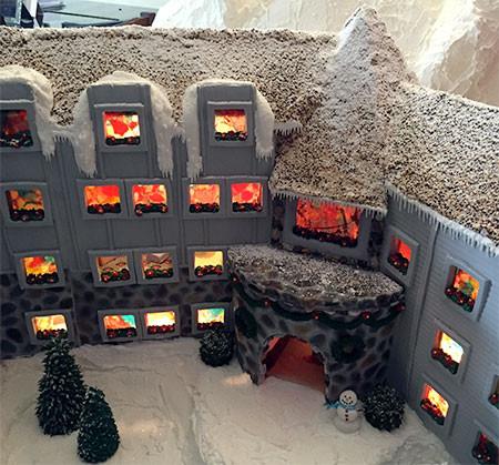 【画像】内装まで作りこまれたお菓子の家が凄い!!の画像(3枚目)