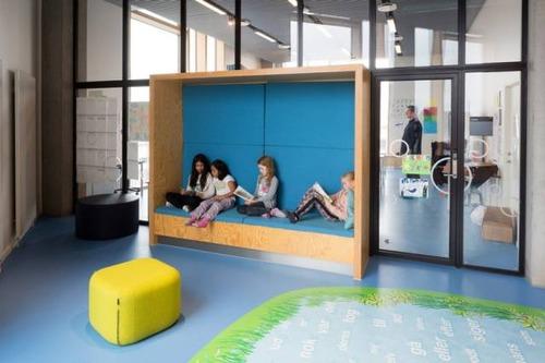 【画像】コペンハーゲンの小学校が子供の秘密基地のよう!!の画像(11枚目)