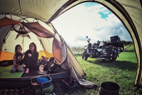 【画像】1台のバイクで家族3人が41カ国を4ヶ月で制覇!!の画像(12枚目)
