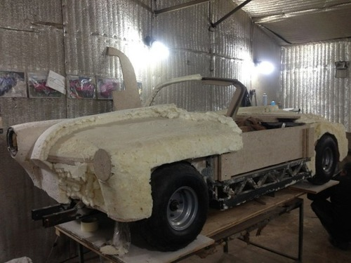【画像】職人が本気で作った子供用の自動車が凄いwwwの画像(8枚目)