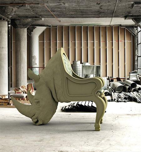 まるで本物!超リアルな動物の椅子が凄いwwwの画像(4枚目)