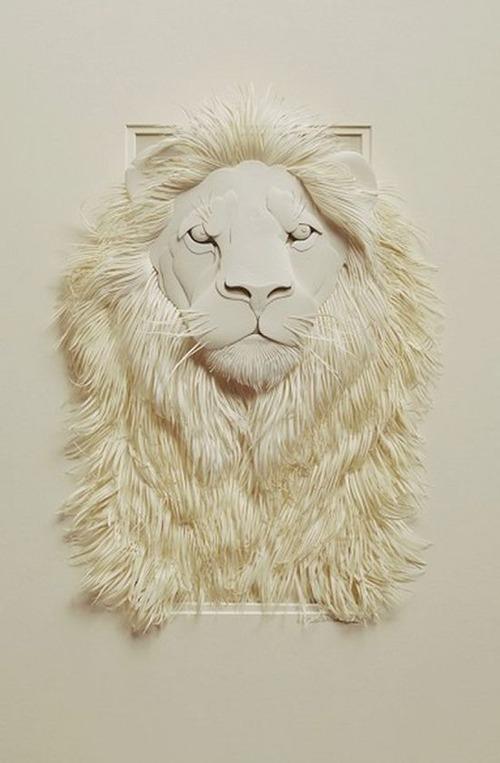 【画像】普通の紙で作る動物のペーパー・カッティング(切り絵)が凄い!!の画像(30枚目)