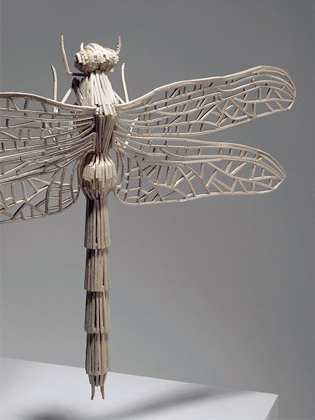 【画像】マッチ棒で作った昆虫のクオリティが凄い!!の画像(5枚目)