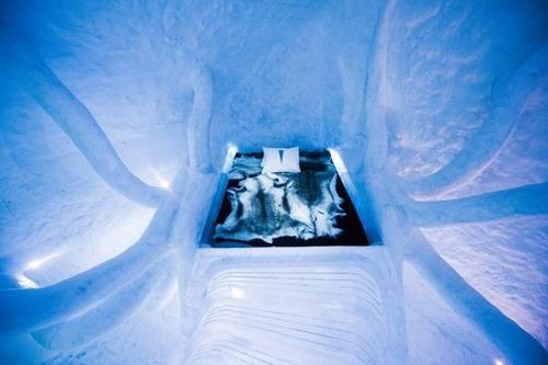 氷でできた極寒のホテルの画像(7枚目)