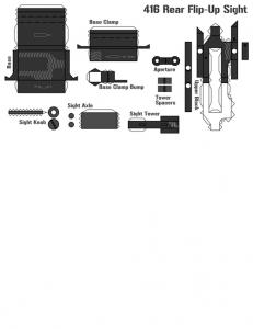 アサルトライフルHK416のペーパークラフトが凄すぎる!!の画像(45枚目)