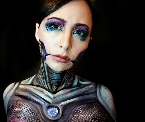 女性のメイクが怖すぎる!化粧のみで怖すぎる女性のメイクの画像の数々!!の画像(5枚目)