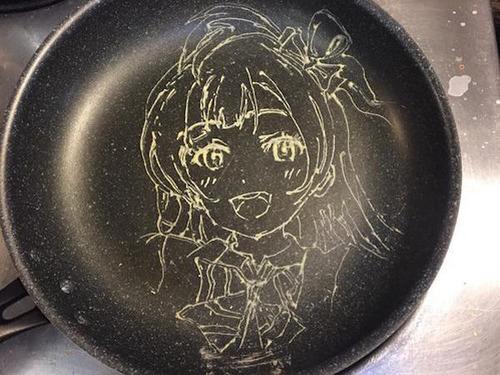 もはや芸術!!パンケーキの焼き加減でアニメのキャラクターを再現!!の画像(7枚目)