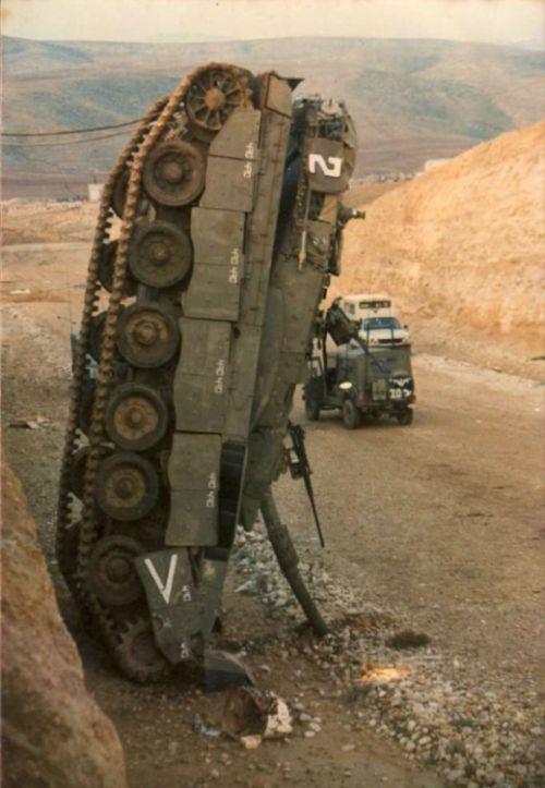 戦車が事故の画像(8枚目)