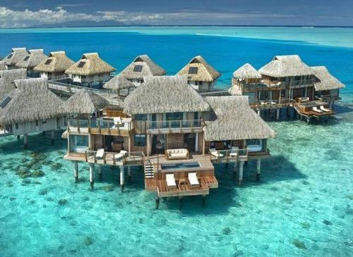 【画像】地上最後の楽園と呼ばれている「ボラボラ島」の絶景!の画像(9枚目)