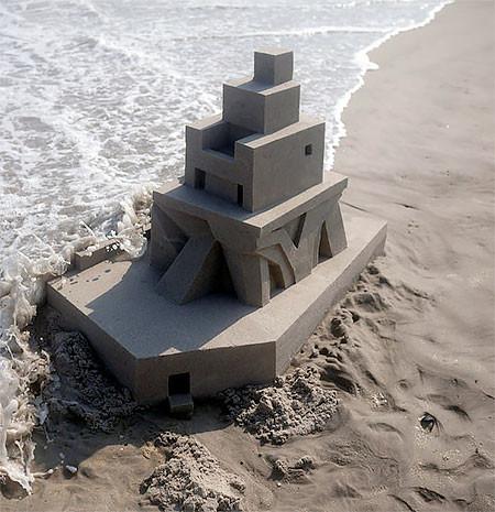 砂で作られた近代的なお城のアートの画像の数々!!の画像(15枚目)