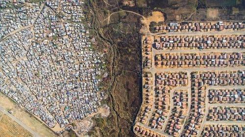 ケープタウンの富裕層と貧困層の画像(8枚目)