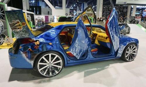 【画像】世界最大級の自動車のイベント『SEMA SHOW 2015』の自動車が凄まじい!!!の画像(14枚目)