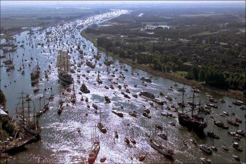 アムステルダムの帆船のフェスティバルが凄い!!の画像(7枚目)