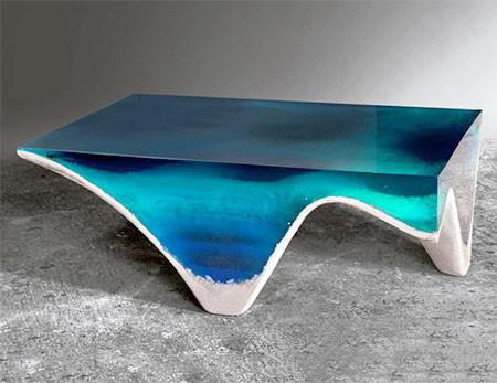【画像】まるで深海そのもの!深い海の底のようなテーブルが凄い!!の画像(8枚目)