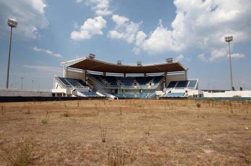 アテネのオリンピックの競技場の現在の画像(1枚目)