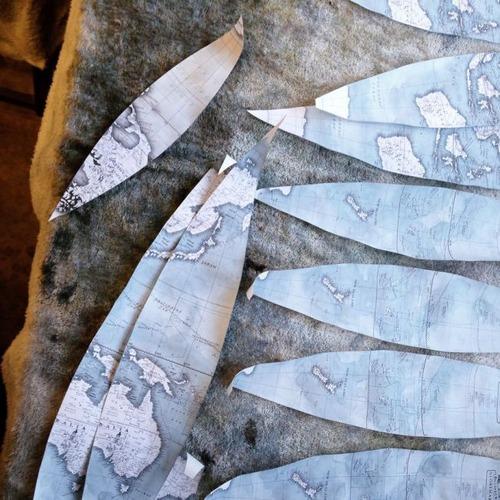 もはや芸術!手作りの地球儀「アトモスフェア」の製作風景が凄い!!の画像(22枚目)