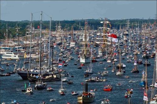 アムステルダムの帆船のフェスティバルが凄い!!の画像(6枚目)