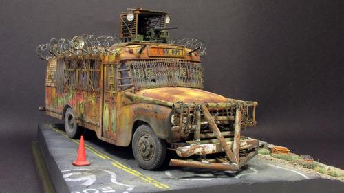 【画像】単なるバスのプラモでも超本気で作ると凄いことになるwwwの画像(48枚目)