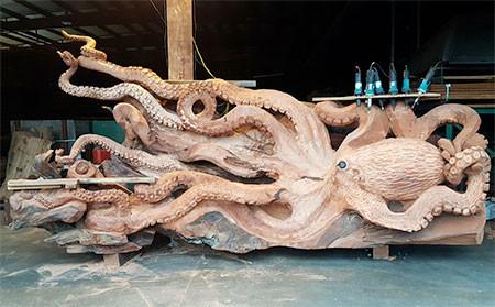 タコの彫刻04