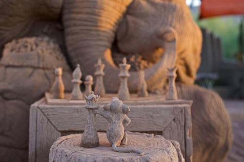 【画像】驚愕のサンドアート!砂で出来た象の像が凄い!!の画像(6枚目)