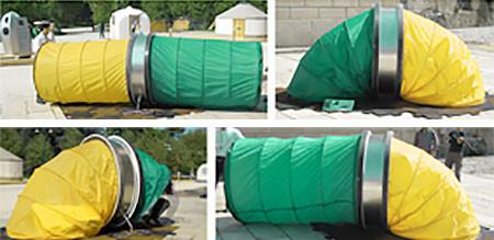 コロコロ運べる仮設テントの画像(2枚目)