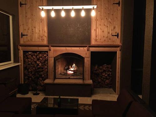 ロマンを感じる!自宅に追加で作った暖炉が凄い!!の画像(18枚目)