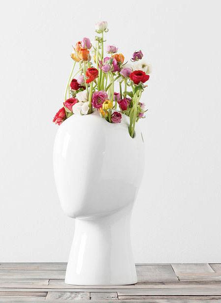 【画像】人の頭から花や植木が生えてくる植木鉢wwwの画像(10枚目)