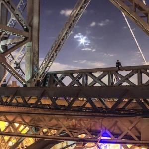 とりあえず高い所に来たので記念撮影をした写真が高すぎて本当に怖いwwの画像(11枚目)