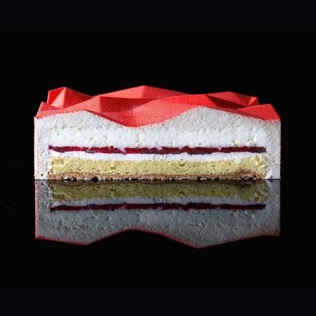 幾何学模様の不思議なケーキ16