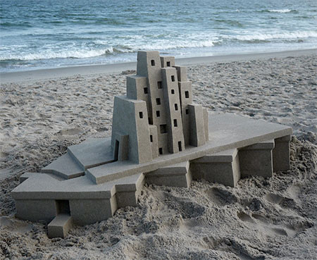 砂で作られた近代的なお城のアートの画像の数々!!の画像(12枚目)