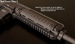 アサルトライフルHK416のペーパークラフトが凄すぎる!!の画像(6枚目)