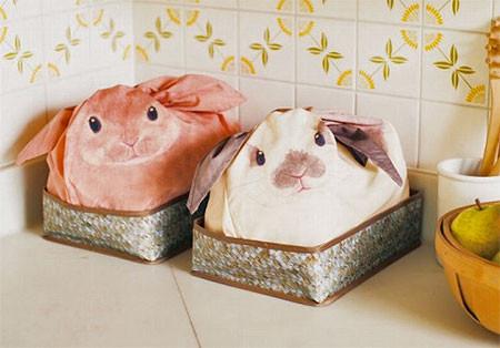 ウサギになる風呂敷の画像(8枚目)