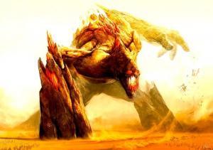 幻想的でドキドキする超巨大生物の壁紙!の画像(20枚目)