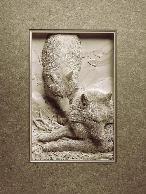 【画像】普通の紙で作る動物のペーパー・カッティング(切り絵)が凄い!!の画像(3枚目)