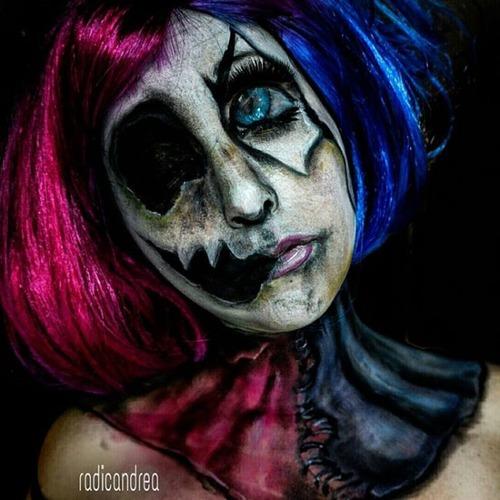 女性のメイクが怖すぎる!化粧のみで怖すぎる女性のメイクの画像の数々!!の画像(26枚目)