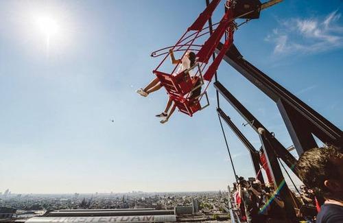 怖すぎる空中ブランコの画像(12枚目)