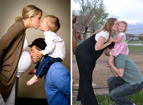赤ちゃんとの記念撮影の理想と現実の画像(3枚目)