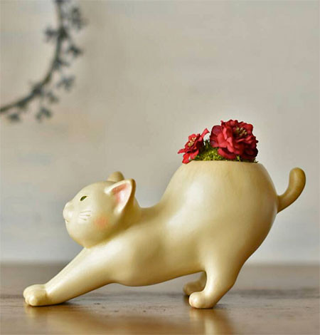 植木鉢で癒される!かわいい動物のプランターの画像の数々!!の画像(10枚目)