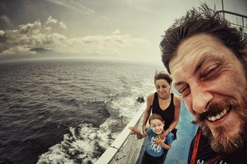 【画像】1台のバイクで家族3人が41カ国を4ヶ月で制覇!!の画像(29枚目)